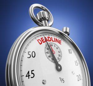 Deadline Stoppuhr